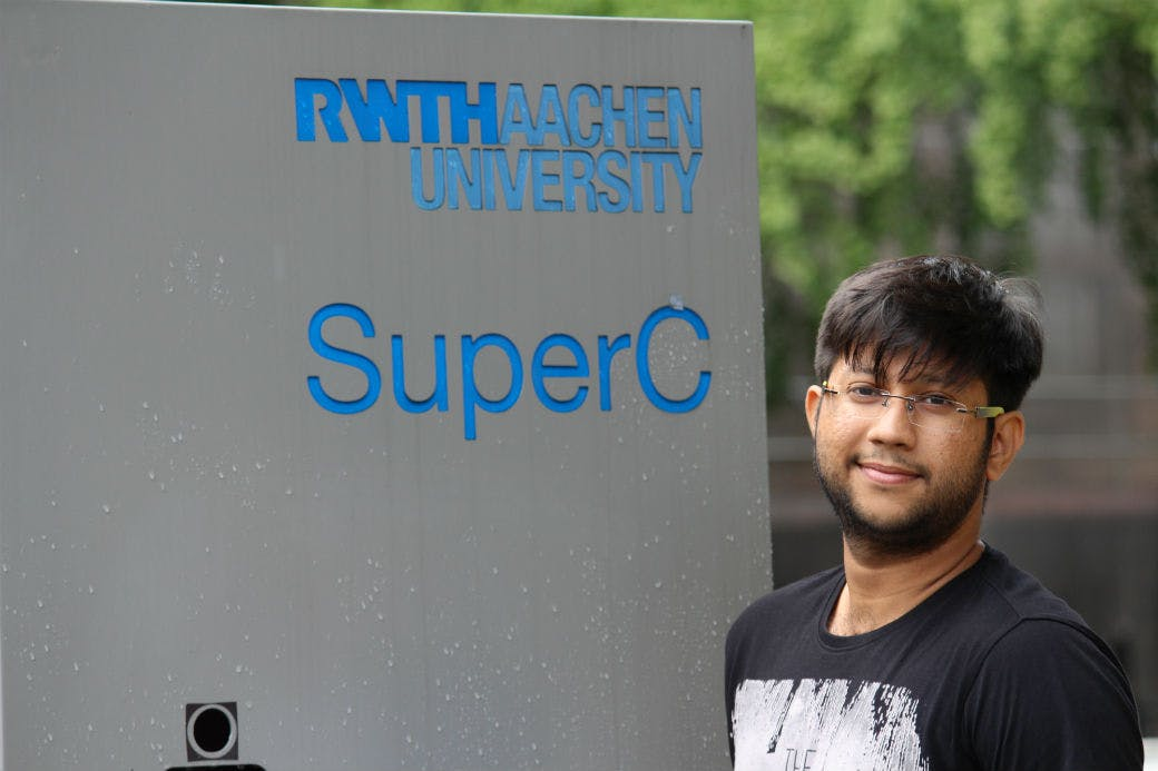 RWTH Aachen University, Germany: Study Experience of Mohamed